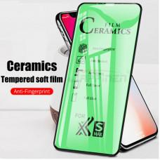 Защитное стекло Ceramics Film iPhone 11 2019/ Xr 6.1 черный